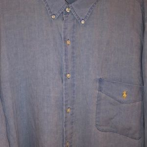 Polo Ralph Lauren linen button down 3XB